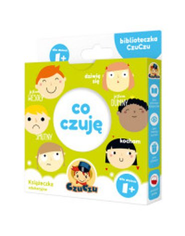 Bright Junior Media - Biblioteczka CzuCzu. Co czuję