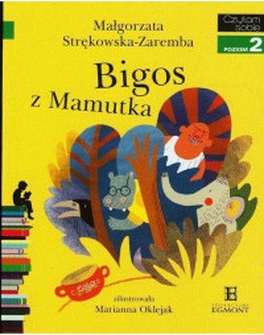 Egmont - Czytam sobie. Poziom 2. Bigos z Mamutka