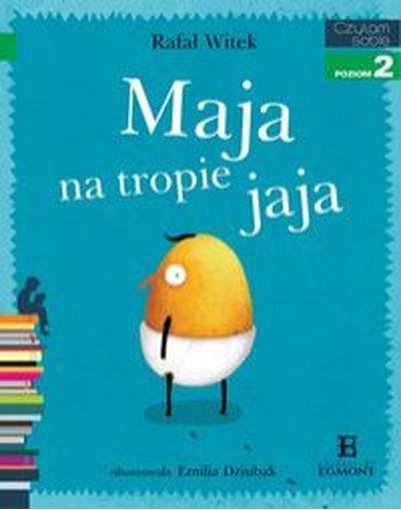 Egmont - Czytam sobie. Maja na tropie jaja