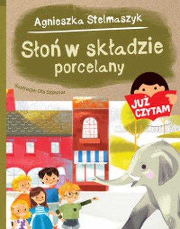 Zielona Sowa - Już czytam. Słoń w składzie porcelany