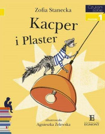 Egmont - Czytam sobie. Kacper i Plaster. Poziom 1