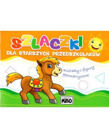 Niko - Szlaczki dla starszych przedszkolaków. Kształty i figury geometryczne