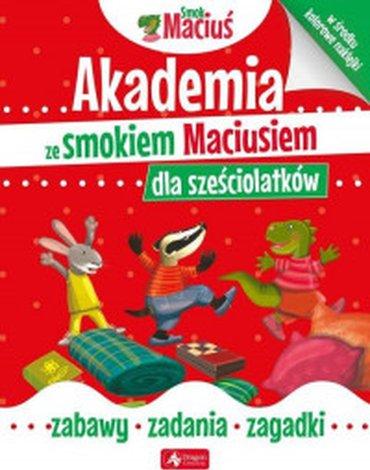 Dragon - Akademia ze smokiem Maciusiem dla sześciolatków