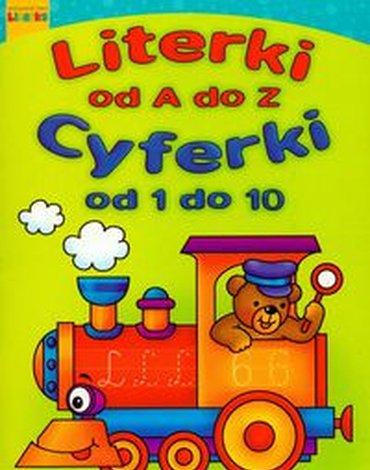 Literka - Literki od A do Z. Cyferki od 1 do 10