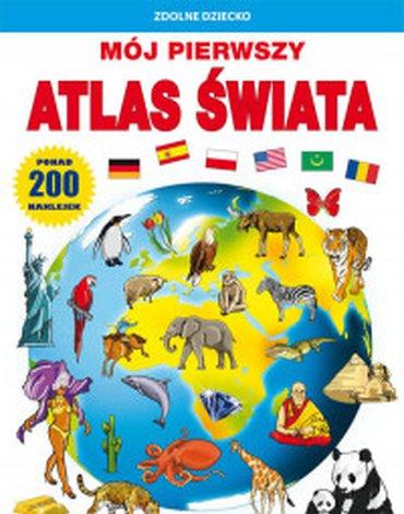 Literat - Mój pierwszy atlas świata