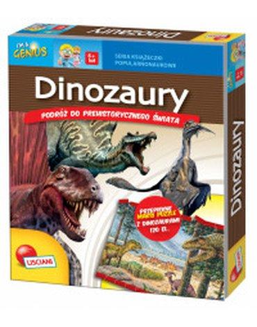 Lisciani - Dinozaury. Podróż do prehistorycznego świata + puzzle