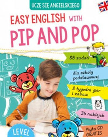 Skrzat - Easy English with Pip and Pop. Level 1 + CD