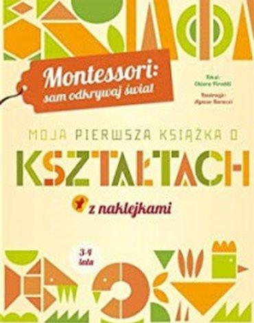 Olesiejuk Sp. z o.o. - Moja pierwsza książka o kształtach