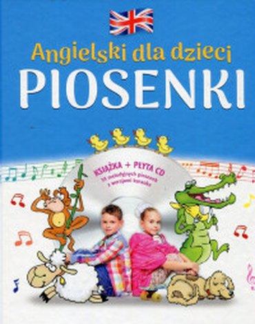 Kapitan Nauka - Angielski dla dzieci. Piosenki + CD
