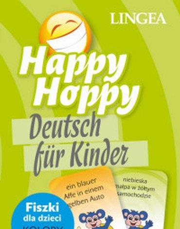 LINGEA - Happy Hoppy. Fiszki dla dzieci. Niemiecki, część 2. Kolory i liczby