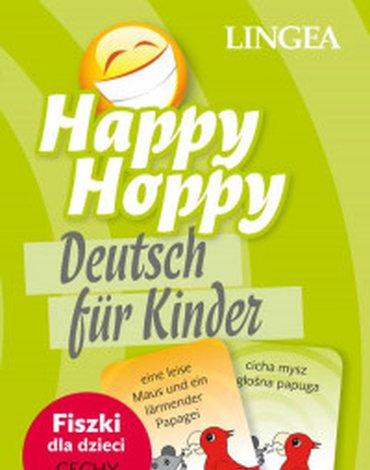 LINGEA - Happy Hoppy. Fiszki dla dzieci. Niemiecki, część 1. Cechy i relacje