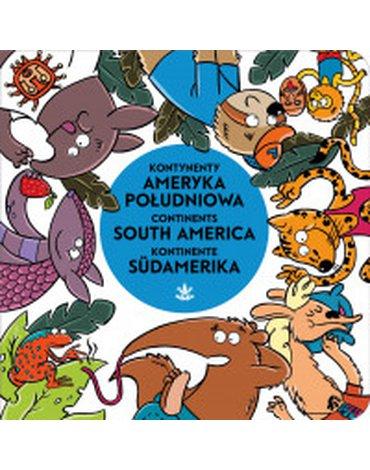 Tashka - Kontynenty. Ameryka Południowa, South America, Südamerika