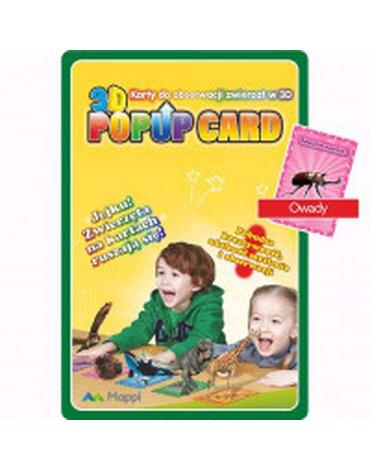 PIĘTKA - Karty Popup 3D. Owady