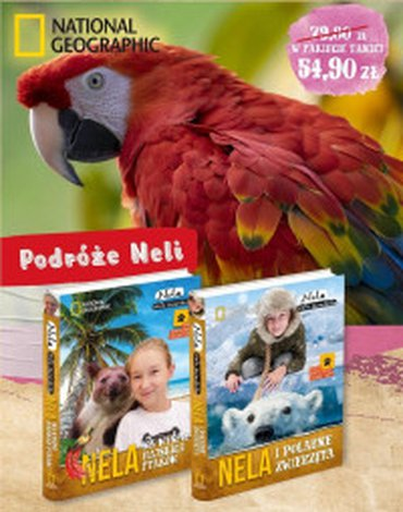 Burda książki - Pakiet 4: Nela i polarne zwierzęta / Nela na wyspie rajskich ptaków
