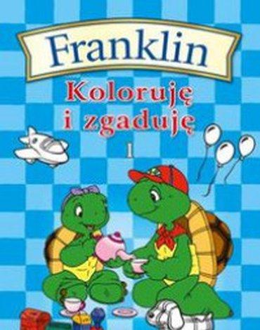 Wydawnictwo Debit - Franklin. Koloruję i zgaduję 1