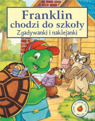 Wydawnictwo Debit - Franklin chodzi do szkoły. Zgadywanki i naklejanki