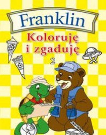 Wydawnictwo Debit - Franklin. Koloruję i zgaduję 2