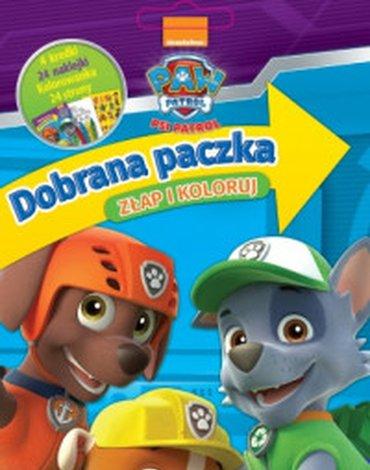 Media Service Zawada - Psi Patrol. Dobrana paczka. Złap i koloruj