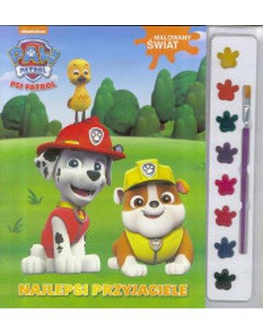 Media Service Zawada - Psi Patrol. Malowany świat. Najlepsi przyjaciele