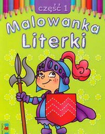 Literka - Malowanka. Literki, część 1