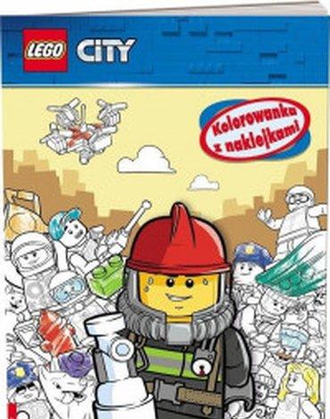 Ameet - LEGO City. Kolorowanka z naklejkami