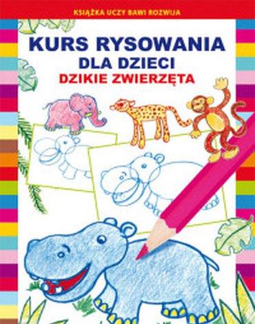 Literat - Kurs rysowania dla dzieci. Dzikie zwierzęta