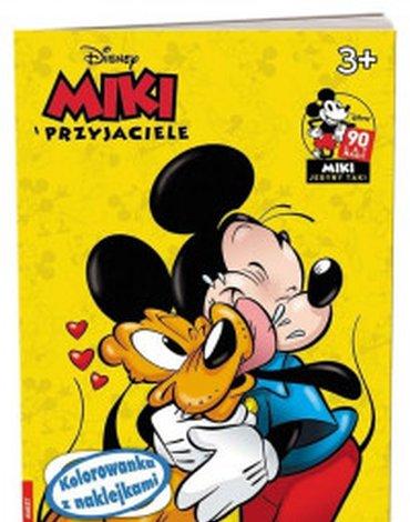Ameet - Miki i Przyjaciele. Kolorowanka z naklejkami
