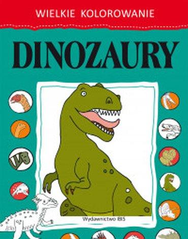 BOOKS - Wielkie kolorowanie. Dinozaury