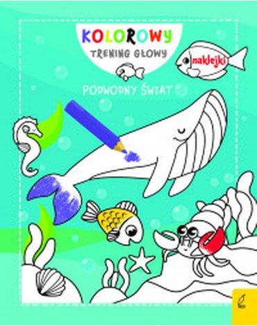 Wilga / GW Foksal - Kolorowy trening głowy. Podwodny świat