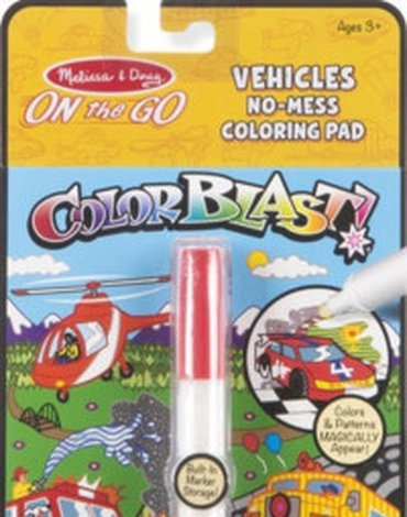 Melissa&Doug® - Kolorowanka Colorblast. Pojazdy