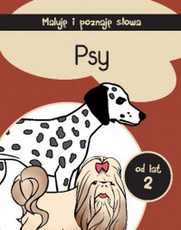 Siedmioróg - Maluję i poznaję słowa. Psy