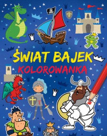 Wilga / GW Foksal - Kolorowanka A4. Świat bajek