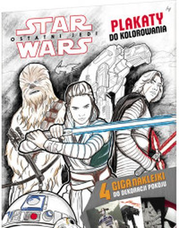 Ameet - Star Wars. Plakaty do kolorowania