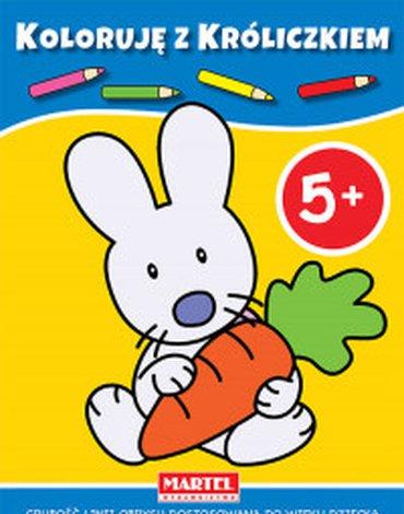 Martel - Koloruję z króliczkiem