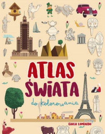 Olesiejuk Sp. z o.o. - Atlas świata do kolorowania