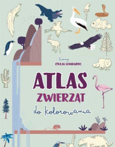 Olesiejuk Sp. z o.o. - Atlas zwierząt do kolorowania