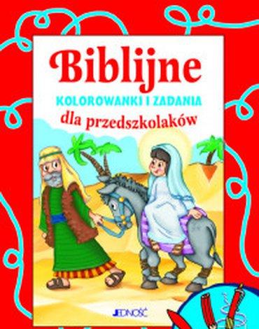 Jedność - Biblijne kolorowanki i zadania dla przedszkolaków