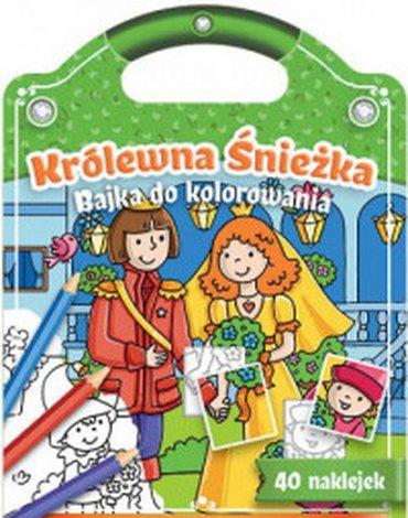 Aksjomat - Bajki do kolorowania. Królewna Śnieżka