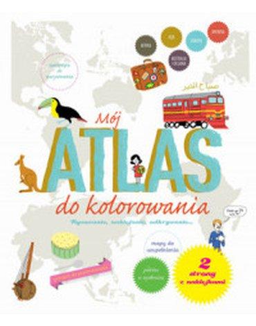 Olesiejuk Sp. z o.o. - Mój atlas do kolorowania