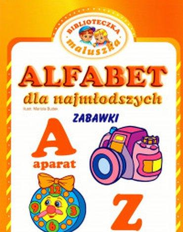Pasja - Alfabet dla najmłodszych. Zabawki