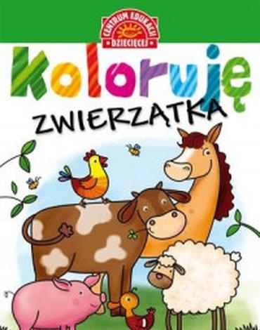 Centrum Edukacji Dziecięcej - Koloruję. Zwierzątka