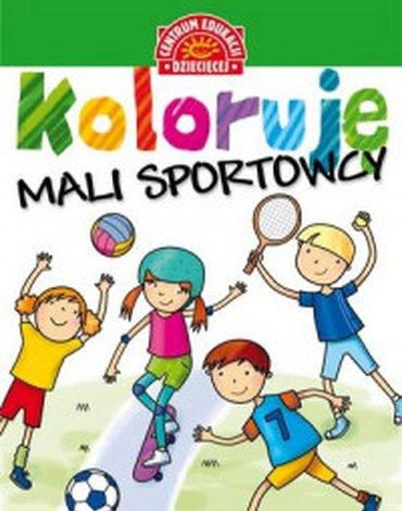 Centrum Edukacji Dziecięcej - Koloruję. Mali sportowcy