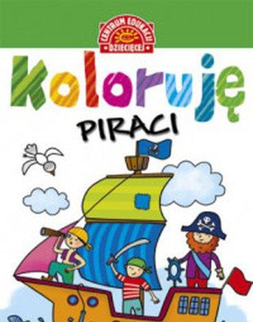 Centrum Edukacji Dziecięcej - Koloruję. Piraci