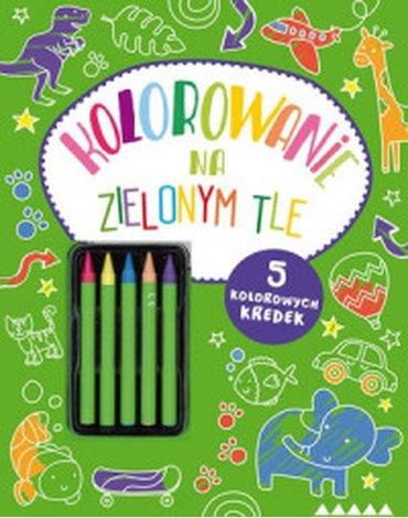 Olesiejuk Sp. z o.o. - Kolorowanie na zielonym tle