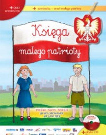 Sfinks - Księga Małego Patrioty + CD Ojczyzno ma... śpiewaj z Natalią + zawieszka orzeł małego patrioty