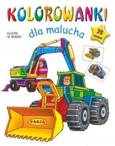 Pasja - Kolorowanki dla malucha. Pojazdy budowlane