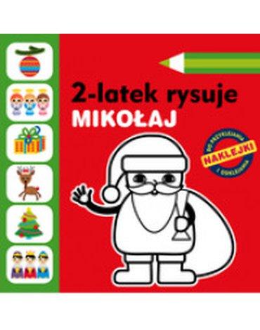 Muza - 2-latek rysuje. Mikołaj