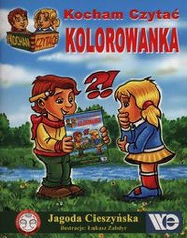 Wydawnictwo Edukacyjne - Kocham Czytać Kolorowanka