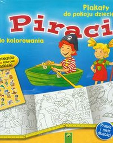 Schwager & Steinlein Verlag - Piraci Plakaty do kolorowania