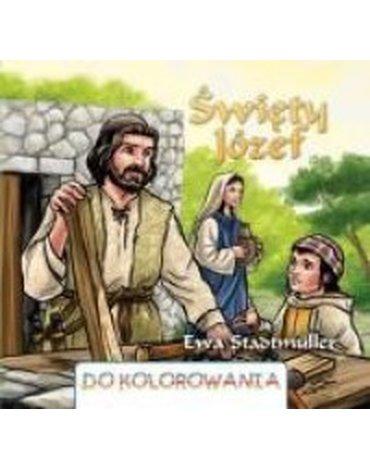Wydawnictwo Diecezjalne Sandomierz - Święty Józef - kolorowanka WDS